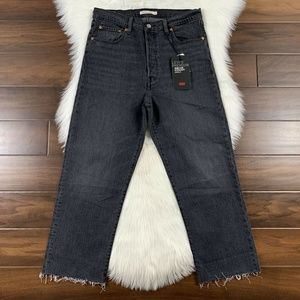 Levi's Ribcage Straight Ankle Denim Jeans